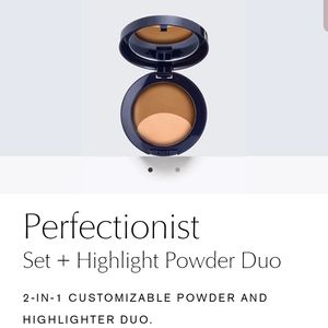 Perfectionist  Set + Highlight Powder Duo  05 Deep